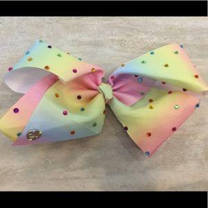 Rainbow Pastel Jojo Bow